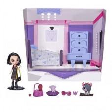 Детский Интерактивный Игровой набор с Куклой Whittany Biskit и зверюшкой Cashmere Biskit Littlest Pet Shop