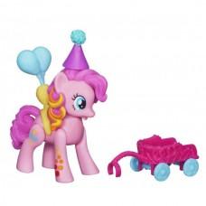 Игровой набор для девочек Пинки Пай Летающие Пони с розовой тележкой Моя Маленькая Пони - My little Pony Hasbro