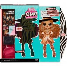 Ігровий набір з лялькою ЛОЛ Леді Бос з одягом, підставкою і аксесуарами, висота 27см - LOL Surprise! OMG S3