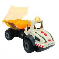 Детская Игрушка для мальчиков Грузовик Самосвал с опрокидывающимся кузовом, свет, звуковые эффекты - Dickie Toys