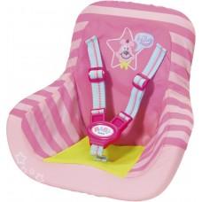 Детское Игровое Автомобильное сиденье с ремнями безопасности для куклы Бэби Борн Baby Born Zapf Creation