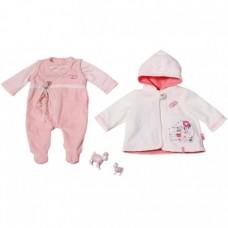 Детский Игровой Набор Одежды для Куклы Бэби Аннабель Комбинезон, куртка с капюшоном Baby Annabell ZapfCreation