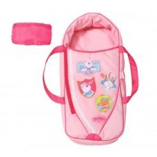 Детская Игровая Люлька-переноска для Куклы Беби Бон Сладкие сны с подушкой розовая Baby Born Zapf Creation