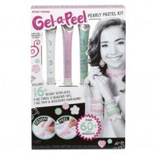 Детский Набор Чудо Гелей для творчества девочек - Создание силиконовых украшений, жемчужная пастель Gel-a-Peel