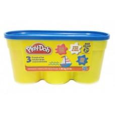 Детский Игровой Набор Мягкого Развивающего Пластилина 1,36 кг Плей До Play Doh Hasbro (синий, белый, розовый) 59062-14 tst-603526651