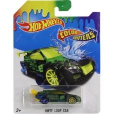Игрушка Детская Машинка-хамелеон Хот Вилс Смена цвета от температуры - Hot Wheels Color Shifters HWTF Loop Car