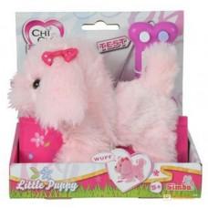 Игрушечная собачка для девочек Чи Чи Лав Маленький розовый Щенок с косточкой, ходит и лает - Chi Chi Love Simba