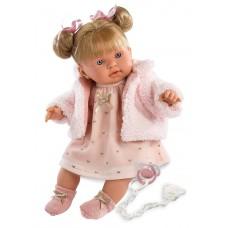 Детская Игровая Говорящая Испанская Кукла Ллоренс Александра 42 см с соской - Llorens Julia Llorona из винила