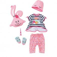 Детский Игровой Набор одежды для Куклы Беби Аннабель Пижамная вечеринка 6предметов Baby Annabell Zapf Creation