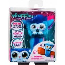 Детский Интерактивный игрушечный Браслет Пушистик Скайо меняет цвет от настроения Little Live Pets Wrapples S1
