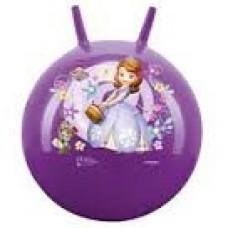 Мяч-Попрыгун для детей надувной, с двумя ручками D=45-50см Принцесса София, Симба, цвет: фиолетовый - Simba