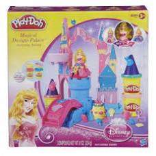 Детский Игровой Набор Для Девочек Чудесный замок с пластилином и принцессой Авророй Плей До Aurora Play Doh 58653-14 tst-393023858