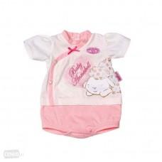 Детский Игровой Набор Нижнего белья для куклы Бэби Аннабель розовый с овечками Baby Annabell Zapf Creation