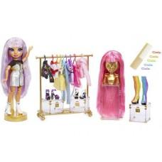 Набор Модная студия Рейнбоу Хай с куклой Эйвери Стайлз для 300 стильных комбинаций - Rainbow High Fashion Studio