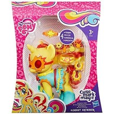 Игровой Набор для девочек Пони Сансет Шиммер единорог с украшениями Cutie Mark Magic, My Little Pony, Hasbro