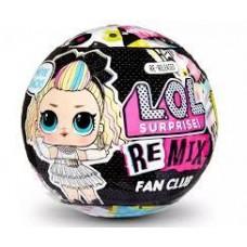 Игровой набор ЛОЛ Ремикс Фан-клуб с мини-куклой и 7 сюрпризными аксессуарами – LOL Surprise! Remix Fan Club