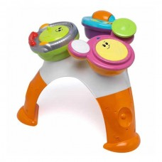 Детский Интерактивный Игровой Музыкальный центр Развивающий Столик 8 режимов Rock Band Chicco 50x22x39 см