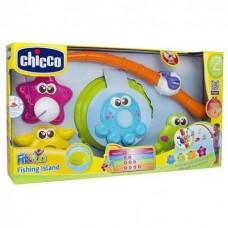 Детский Интерактивный Игровой Развивающий Центр Набор Рыбалка со световыми и звуковыми эффектами Chicco Чико