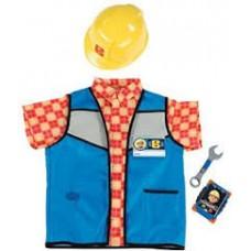 Детская Игровая Униформа Боб строитель Bob The Builder Smoby Смоби (жилетка+каска+футболка+телефон+ключ)