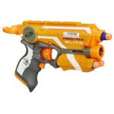 Детское Игрушечное Безопасное Оружие Бластер с Лазерным Прицелом и Стрелами Элит Файрстрайк Nerf от Hasbro