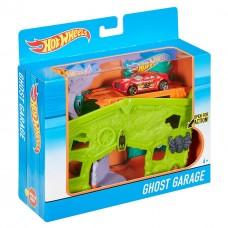 Детский Игровой набор Хот Вилс Гараж с призраками с машинкой и рычажком Ghost Garage Hot Wheels Mattel 59124-14 tst-616033745