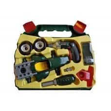 Игровой Набор инструментов автомеханика BOSCH для мальчиков со сборной моделью гоночного автомобиля Klein
