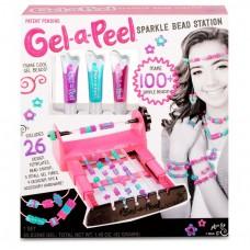 Детский игровой набор для творчества для девочек Мастерская Бусин гель для создания ярких 3D бусин Gel-a-Peel
