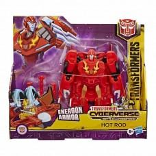 Игровой Робот Трансформер для мальчиков Ультра Хот Род Кибервселенная Битва за Кибертрон, высота 19 см, Hasbro