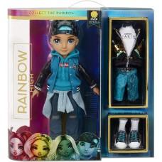 Лялька для дівчаток Рівер Кендалл Рейнбоу Хай з 2 комплектами одягу і сюрпризними аксесуарами - Rainbow High S2