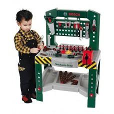 Игровой набор для мальчиков Мастерская Bosch из 77 инструментов с верстаком и крепежных элементов Klein Кляйн