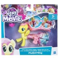 Детский Игровой Набор для девочек Пони в волшебном платье Флаттершай Мерцание - My Little Pony Fluttershy Hasbro