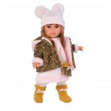 Детская Игровая Развивающая Испанская Говорящая Кукла Ллоренс Николь 35 см в платье с сумкой Llorens Juan