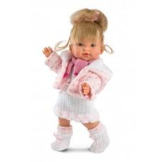 Детская Игровая Испанская Интерактивная Кукла с подвижными руками и ногами Llorens Juan Валерия 28 см