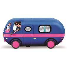 Игровой набор Гламурный Кемпер ЛОЛ с куколкой и 55 аксессуарами: бассейн, горка, звук - LOL Surprise! Glamper