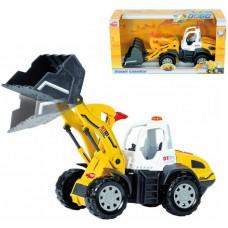 Игрушка Детская Интерактивная Для Мальчиков Машинка Экскаватор, звук и свет, автоподъем ковша Dickie Toys