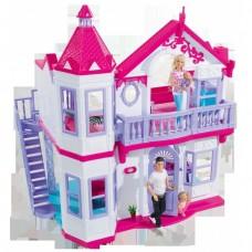 Детский Игровой Набор Большой 2-х этажный Домик для куклы с мебелью Steffi Love Simba Симба 68х58х48 см