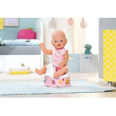 Детский Игровой Музыкальная горшок для Куклы Беби Бон Аплодисменты Уточка с бортиками Baby Born Zapf Creation