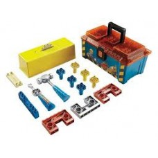 Детский Игровой Ящик для инструментов Боб Строитель с разнообразными инструментами из пластика Fisher Price