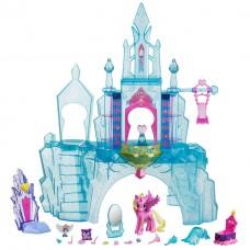 Игровой набор Кристальный замок Моя Маленькая Пони с фигурками и аксессуарами, световые эффекты - My Little Pony