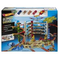 Детский Игровой Набор Хот Вилс Трек Легендарный гараж с вертолетом и подъемником на 36 мест Hot Wheels Mattel 59235-14 tst-601646184
