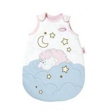 Детский Конверт-спальник для игровой куклы Бэби Аннабель белый с барашком 43-46 см Baby Annabell Zapf Creation