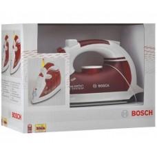 Детская Игрушка для уборки Утюг красный с переключателем и возможность наливки воды Bosch Klein Кляин