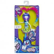 Кукла Винил Скрэтч Диджей Pon-3 девочки Эквестрии с аксессуарами - My Little Pony Rainbow Rocks Neon, Hasbro