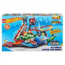 Детский Игровой Трек для машинок Хот Вилс Невообразимая автомойка с машинкой измени цвет Hot Wheels Mattel 59256-14 tst-794634407