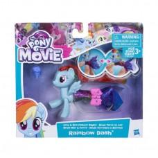 Игровой Набор для девочек Пони в волшебном платье Радуга Дэш Мерцание - My Little Pony Rainbow Dash Hasbro