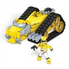 Детский Игровой Конструктор для мальчиков Зорд Тигр с фигуркой 74 детали Mega Bloks Power Rangers Megaforce 58836-14 tst-286688623