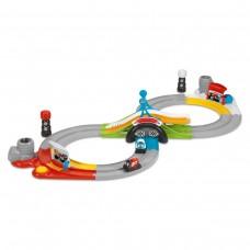 Детский Игровой Набор Интерактивный Трек 4в1, 3 варианта трассы, пульт управления, 2 Мотоцикла Chicco Чико