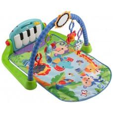 Детский Развивающий Музыкальный Игровой Комплекс Коврик 3в1, 5 игрушек, съемное пианино, 2 режима Fisher-Price