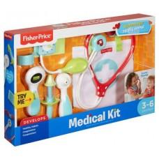 Детский Развивающий Игровой Набор Доктора 7 предметов с сумочкой функциональный Medical Kit Fisher-Price