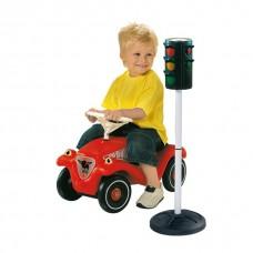 Большой Игровой Обучающий Детский Игрушечный Светофор Big-Traffic-Lights BIG Биг Автоматический на подставке
